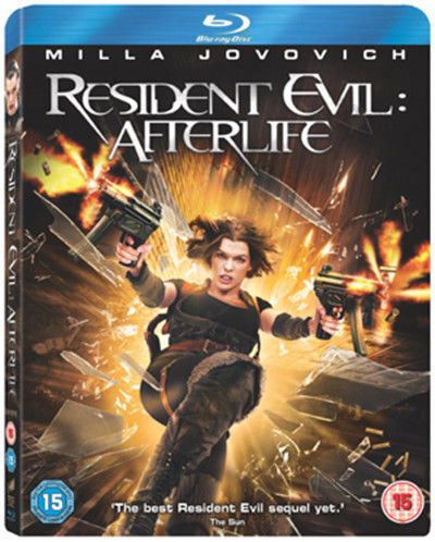 Resident Evil - Afterlife (Blu-ray, 2011) ( NEW ) Includes Slipcase - REG FREE