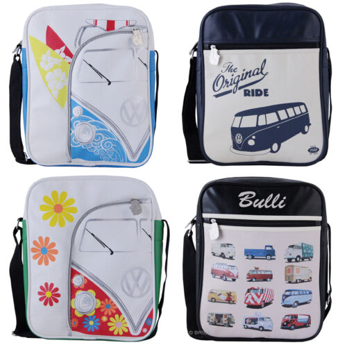 Volkswagen Campervan Shoulder Bag VW Gift 4 Designs Bulli Brisa PVC Licensed NEW