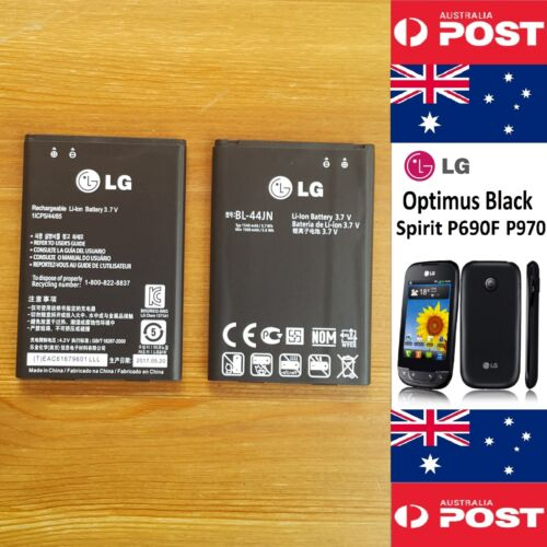 LG Optimus Black Spirit P690F P970 Original Battery BL-44JN 1540mAh Good Quality