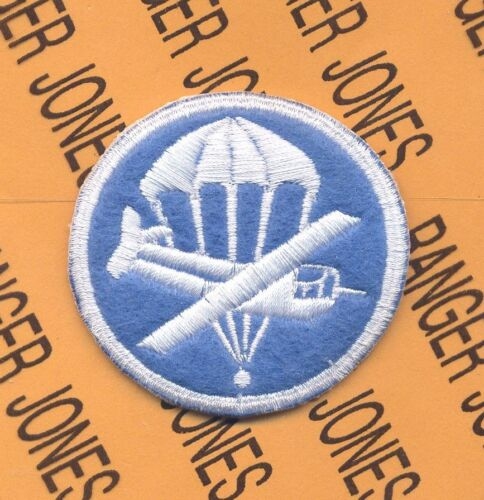 517th Airborne Infantry Regt Parachute Glider Waco Officer Hat patch #58