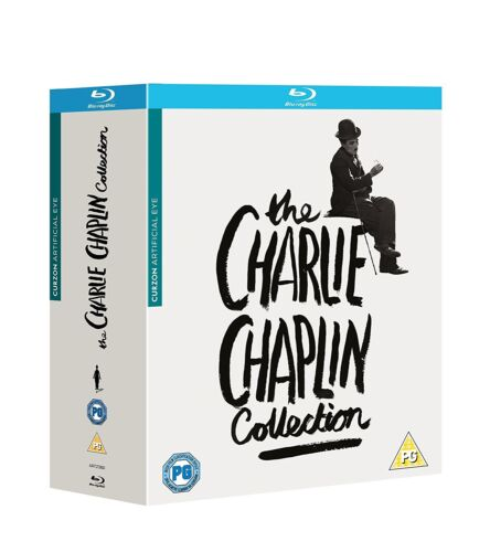 The Charlie Chaplin Collection Blu ray Box Set RB 11 discs set New Sealed