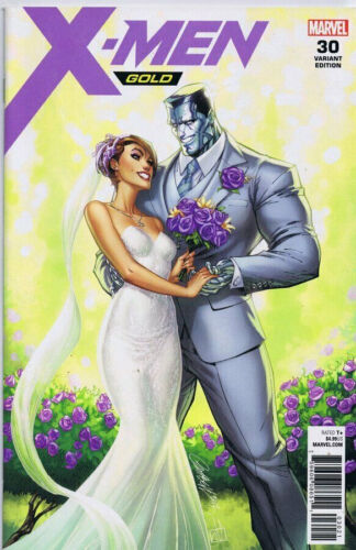 X-MEN GOLD 30 J SCOTT CAMPBELL VARIANT KITTY COLOSSUS GET MARRIED NM PRE-SALE
