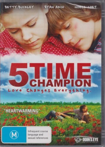5 Time Champion DVD BRAND NEW, SEALED, FREE POSTAGE
