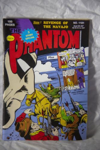 The Phantom Comic Book No. 1181 - Revenge of the Navajo with missing page