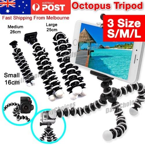 Universal Octopus Stand Tripod Mount Holder for iPhone Samsung Cell Phone Camer
