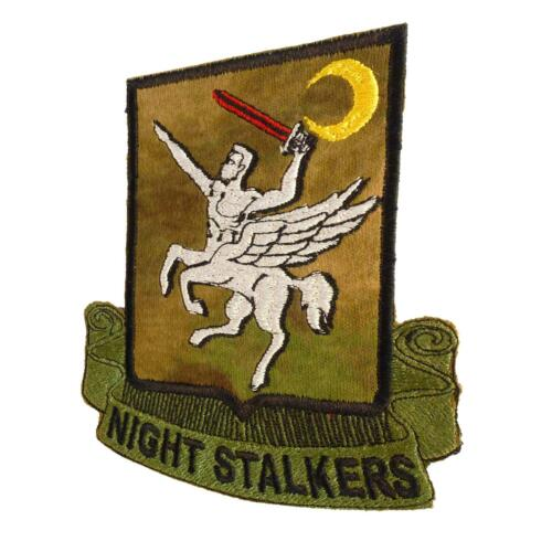 Night Stalkers A-TACS FG Operation Red Wings 160th SOAR parche sew iron on patchParches - 4725