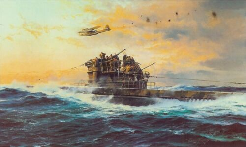 ROBERT TAYLOR Against All Odds German U-Boat PBY Catalina 7 Sigs Bonus SOLD OUT!