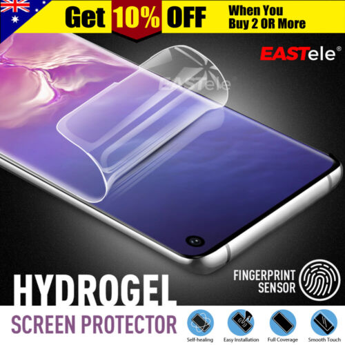 EASTele Samsung Galaxy S10 5G S9 S8 Plus Note 9 HYDROGEL Full Screen Protector <br/> ▲ AUS Stock! ▲ Newest Generation Design ▲ Easy to Use