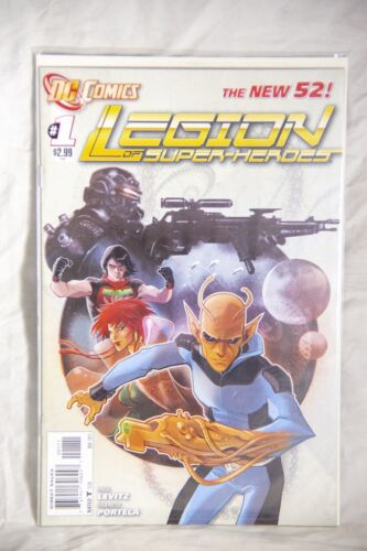 DC Comics Legion of Superheroes (The New 52) Issue#1