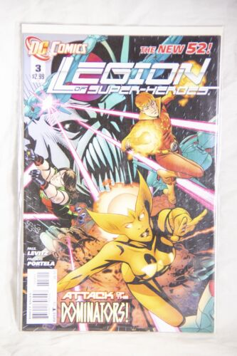 DC Comics Legion of Superheroes (The New 52) Issue#3 Attack of the Dominators!