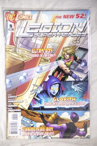DC Comics Legion of Superheroes (The New 52) Issue#5