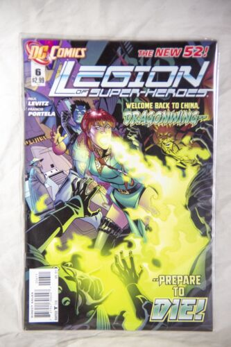 DC Comics Legion of Superheroes (The New 52) Issue#6