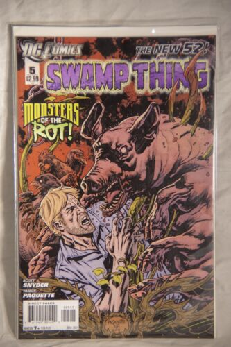 DC Comics Swamp Thing (The New 52) Issue #5