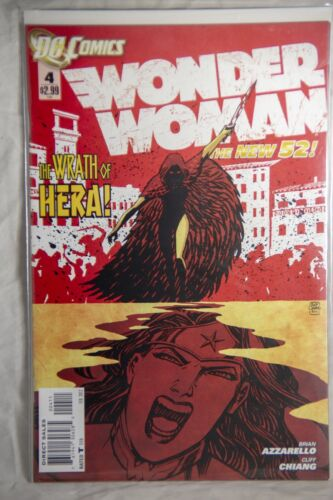 DC Comics Wonder Woman (The New 52) Issue #4