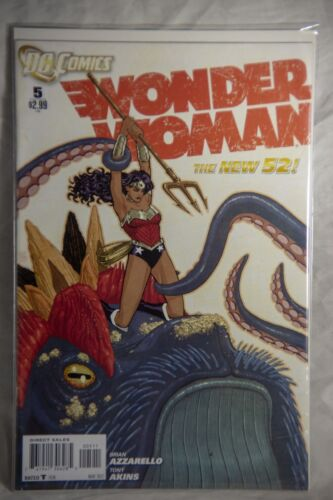 DC Comics Wonder Woman (The New 52) Issue #5