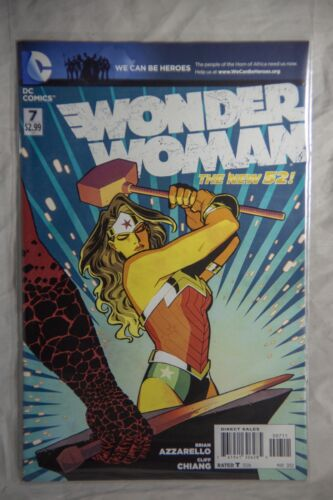 DC Comics Wonder Woman (The New 52) Issue #7