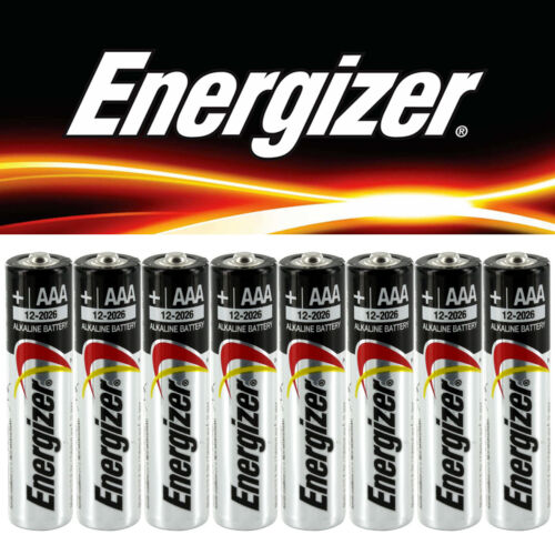 48 24 12 X New Genuine Energizer Alkaline Duracell AA AAA Batteries 2027 expiry
