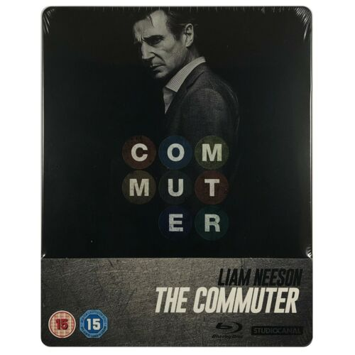 The Commuter Steelbook - UK Exclusive Limited Edition Blu-Ray **Region B**