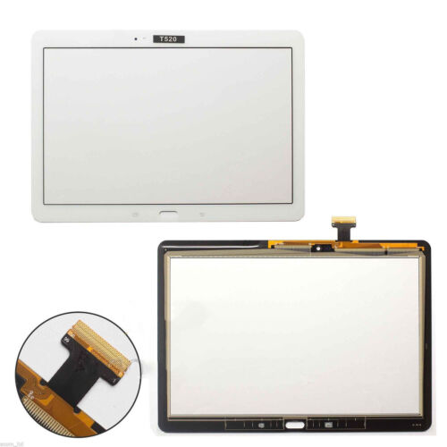 "NEW SAMSUNG GALAXY TAB PRO 10.1"" SM-T520 T525 TOUCH SCREEN DIGITIZER GLASS WHITE"