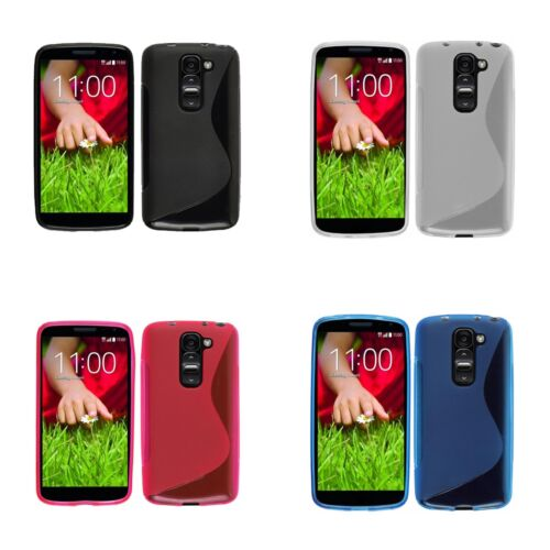 CASE FOR LG G2 MINI S-LINE SILICONE GEL SKIN PHONE COVER IN VARIOUS COLOURS