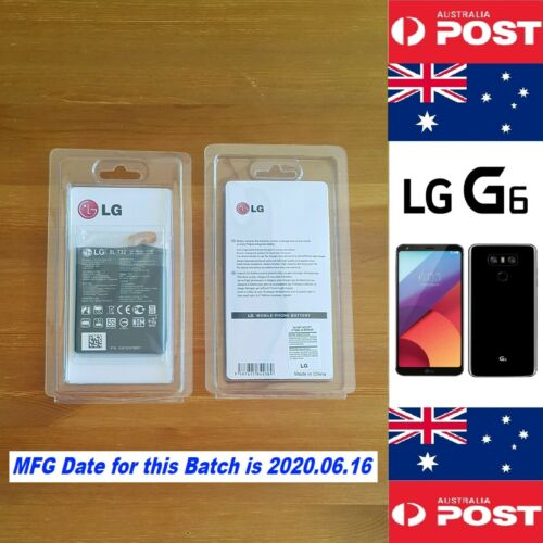 Genuine Retail Original LG G6 Battery BL-T32 3300mAh Quality - Local Seller !