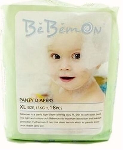 Nappies Bebemon Pull Up Pants Size XL 18 Pcs for Babies 13Kg+/Junior