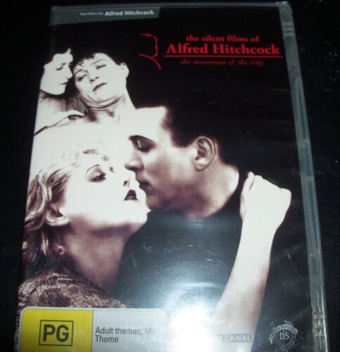 The Silent Films Of Alfred Hitchcock (Australia Region 4) DVD – New