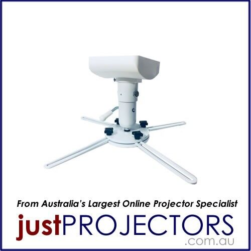 Redleaf Projector Mount WHITE FB-1W from Just Projectors Australia