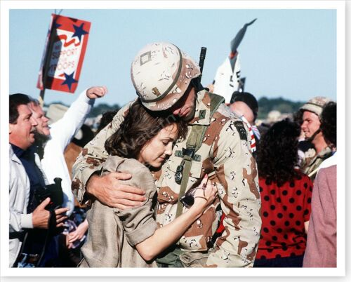 82nd Airborne Pope Air Force Base Homecoming Operation Desert Storm 8 x 10 PhotoReproductions - 156449