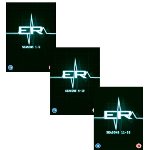 ER Complete series Seasons 1+2+3+4+5+6+7+8+9+10+11+12+13+14+15 DVD NEW Clearance