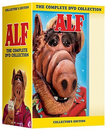 ALF the Complete Series Season 1, 2, 3 & 4 DVD Box Set Collection New & Sealed