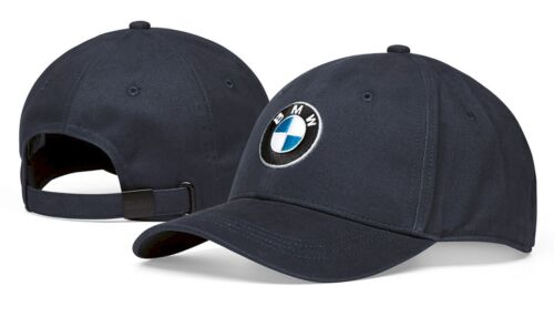 ae5775a5544 BMW Genuine Main Collection Cotton Logo Cap With Adjustable Strap