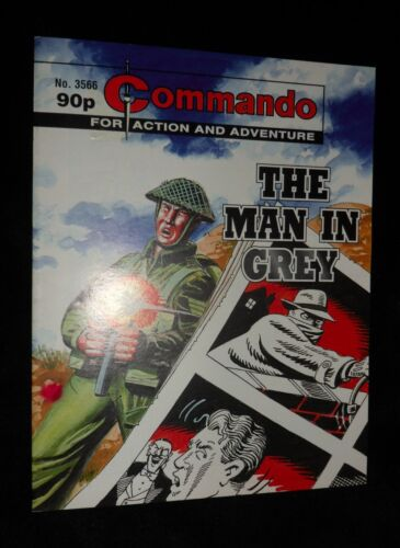 Commando (For Action and Adventure)  THE MAN IN GREY # 3566    2002 Edition