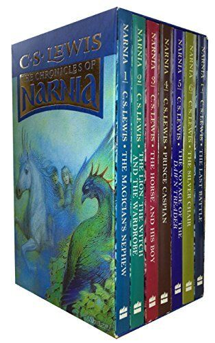 The Complete Chronicles of Narnia  Boxed Set 7 Books