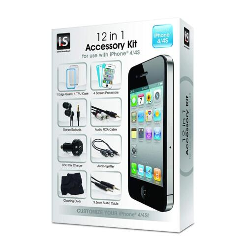 iSound 12in1 Accessory Kit for iPhone 4/4S