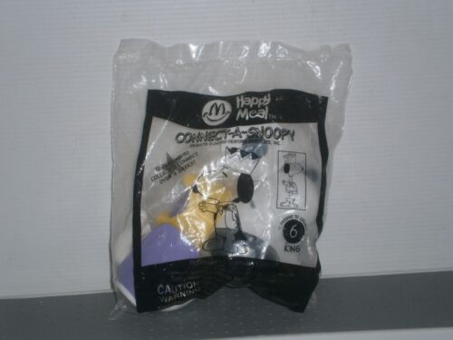 MCSP1 McDonald's Connect - A - Snoopy Happy Meal Toy 2002