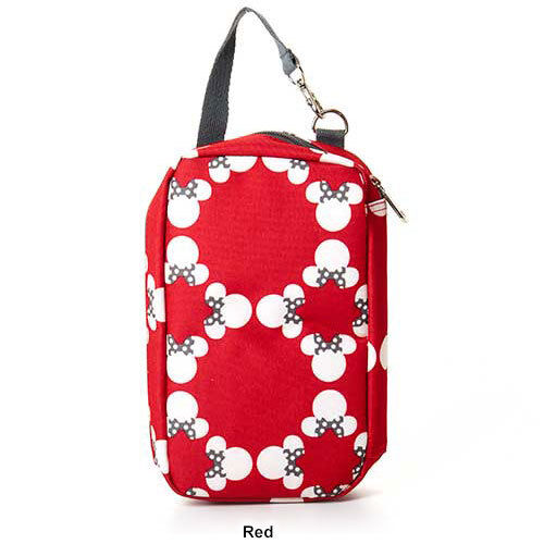 Disney Official Minnie Mouse Baby Diaper Shuttle w Changing Pad Carry Strap Girl