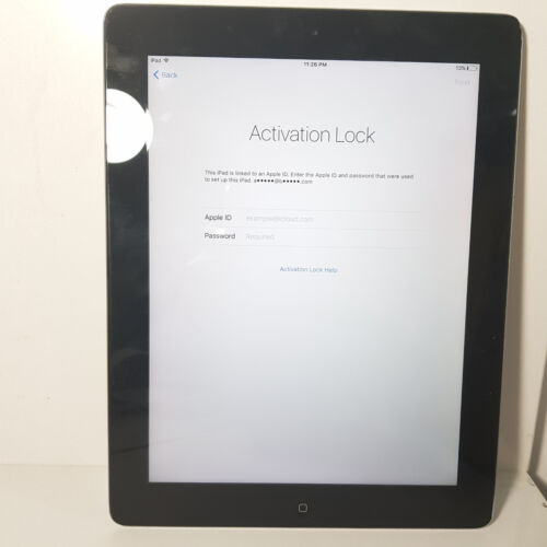 Apple iPad 3  Wifi 32 GB A1416 9.7'' 5MP 1GB RAM/ Sold As Is/ Activation Lock