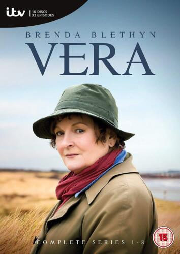 Vera the Complete Season Series 1 2 3 4 5 6 7 8 DVD Box Set New Sealed