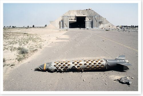 French BLG-66 Belouga Lies In Kuwaiti Airfield Operation Desert Storm 8x12 PhotoReproductions - 156449