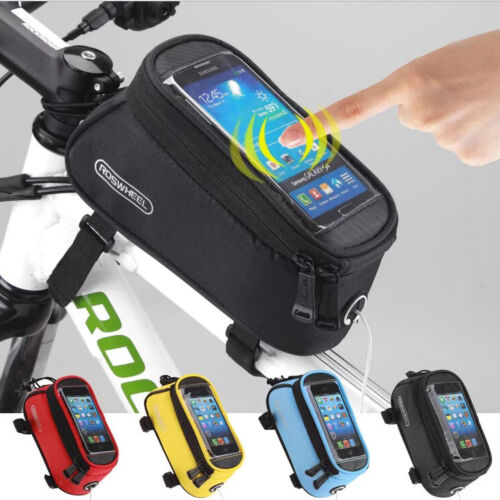 Cycling Frame Bag Bicycle Bike MTB Front Top Tube Cell Phone Pouch Waterproof