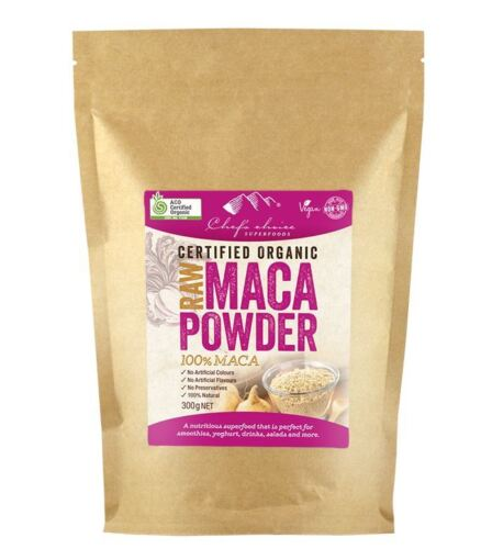 Raw Organic Maca Powder Chef's Choice 300g