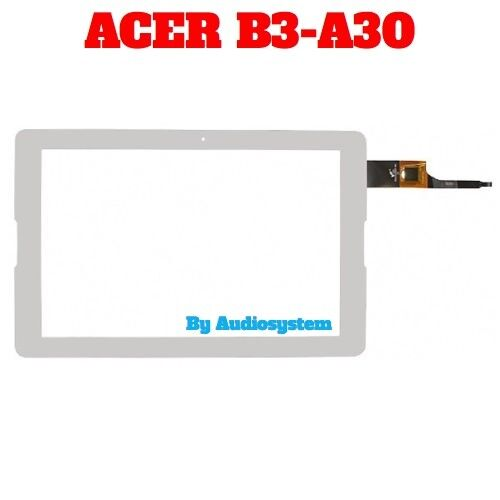 TOUCH SCREEN+VETRO PER ACER ICONIA ONE 10 B3-A30 K94F +BIADESIVO BIANCO DISPLAY