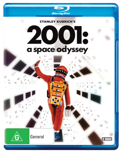 A 2001 - Space Odyssey (Blu-ray, 2018, 2-Disc Set)