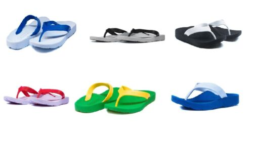 15fc99890 ARCHLINE Balance Orthotic Thongs Arch Support Sandals Flip Flops Size 5-13