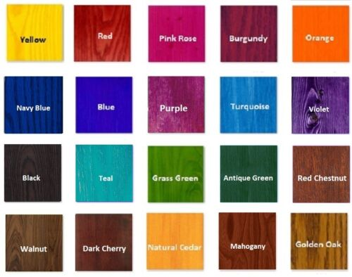Water Based Wood Stain For Woodworking Diy Decoupage And Wood Craft 60ml