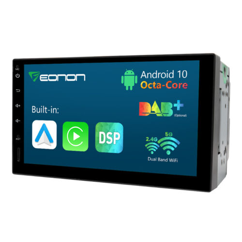 """7"""" Quad Core Android 10 Car GPS Stereo RAM 2GB Headunit DAB+ OBD2 Touch screen"""