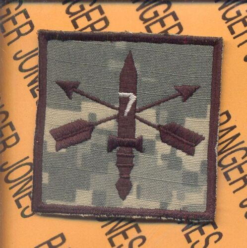 7th Special Forces Group AIRBORNE SFGA ACU HCI Helmet Cover patchOther Militaria - 135