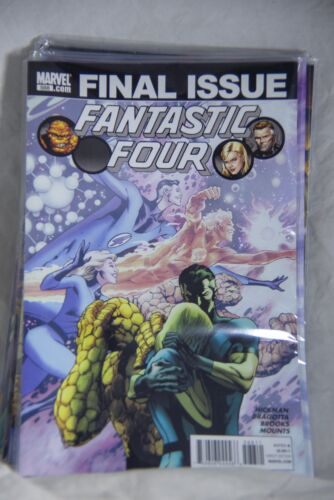 Marvel Comic Fantastic Four Issue #588 - Final Issue