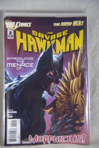 DC Comic The Savage Hawkman (The New 52) Issue #2 …Morphicius!